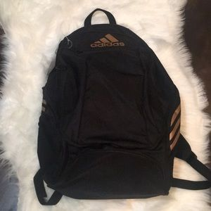 adidas Bags - Adidas Gold Black estadio Backpack travel gym more photos  52afa 2d972 ... b869d9a8ff329